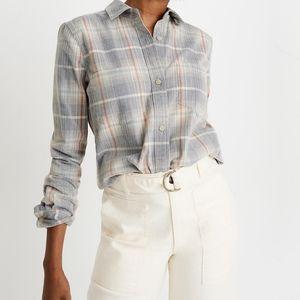 NWT Madewell Corduroy Shirt